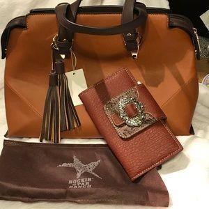 RockStar Bag w/Wallet NEW